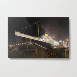 Queen Mary Metal Print
