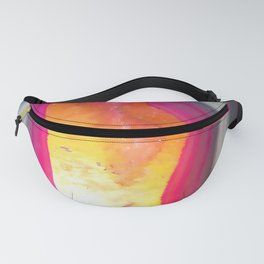 Pink Geode Glow Fanny Pack