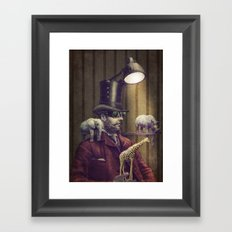 The Miniature Menagerie Framed Art Print