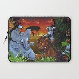 Jungle Mural Laptop Sleeve