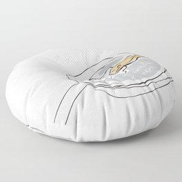 5 Minutes More  Floor Pillow