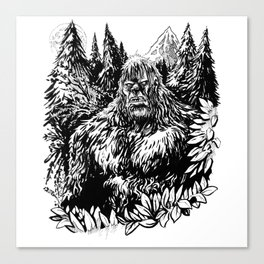 PACIFIC NORTHWEST SASQUATCH Canvas Print
