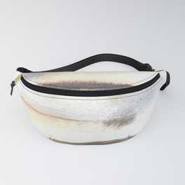 150129 Neutral Cool Abstract 13 Fanny Pack