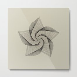 Dark Star Lines Metal Print