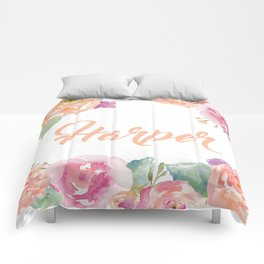 Harper Name Comforters