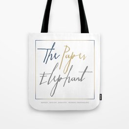 The Paper Elephant Tote Bag