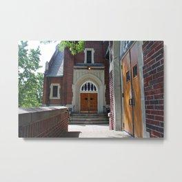 First Methodist Church II Metal Print
