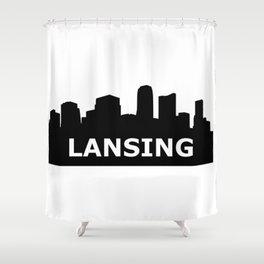 Lansing Skyline Shower Curtain