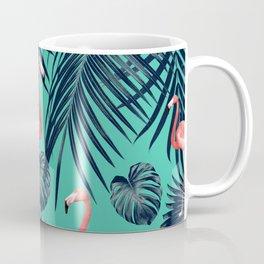 Tropical Flamingo Pattern #7 #tropical #decor #art #society6 Coffee Mug