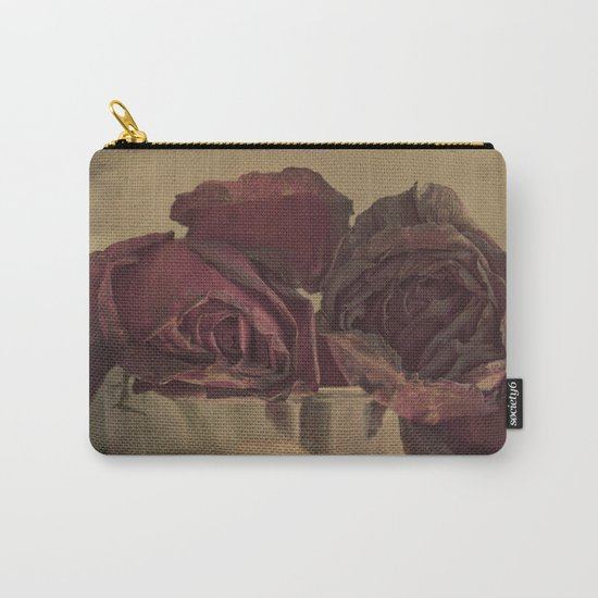 The veins of Roses Carry-All Pouch