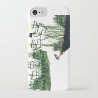 ships iPhone & iPod Cases featuring Ships by kiwiroom