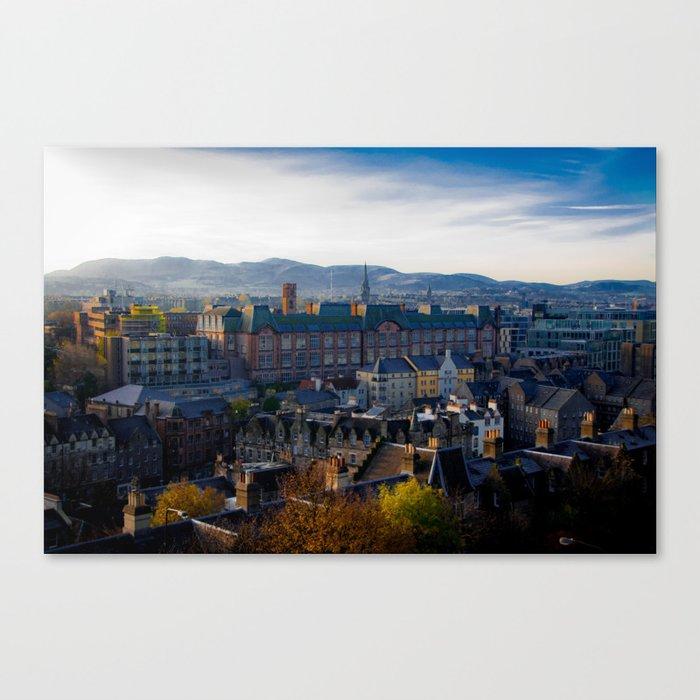 Edinburgh Sunrise Canvas Print