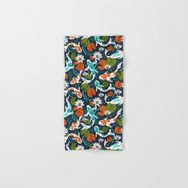 Koi Pond - Orange Hand & Bath Towel