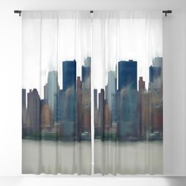 Storm in the City Blackout Curtain