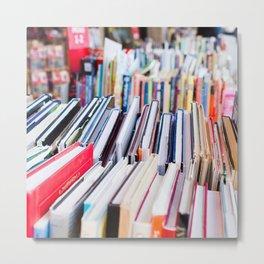 Strand of Books Metal Print