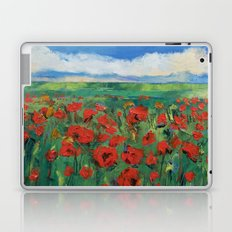 Field of Red Poppies Laptop & iPad Skin