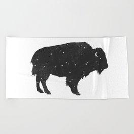 Mystic Buffalo Beach Towel