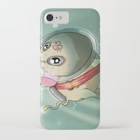 scuba iPhone & iPod Cases featuring Scuba Cat by Nogland