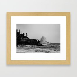 POWERFUL NATURE Framed Art Print