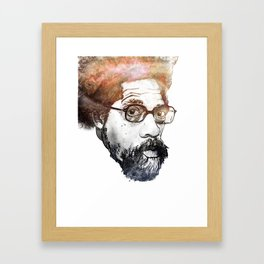 Dr. Cornel Ronald West (born June 2, 1953) Framed Art Print