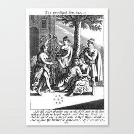 The Prodigal Son's Welcome Home Party Canvas Print
