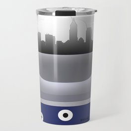 Cleveland - CLE -Airport Code & Skyline Travel Mug