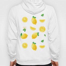 Bittersweet Mellow Bright Yellow Lemon Teeshirt,Yellow sour fruit, High quality lemon pattern, summe Hoody