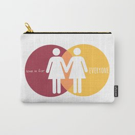 Love Is For Everyone - Her & Her Carry-All Pouch