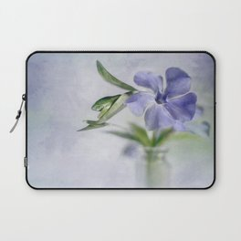 Periwinkle in vial Art #2 Laptop Sleeve