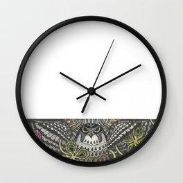 Falcon on clover Wall Clock