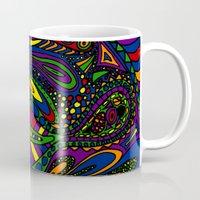 psychadelic Mugs featuring Psychadelic by Groolya