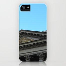 Facade of Kazan Cathedral iPhone Case