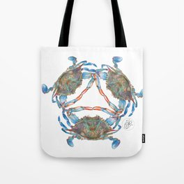 Blue Crabs Tote Bag