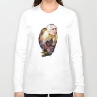 monkey island Long Sleeve T-shirts featuring Monkey by beart24