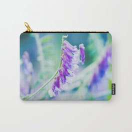 Cool coloured purple flowers  Carry-All Pouch