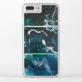 Australian waves Clear iPhone Case