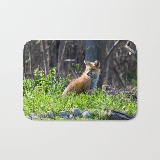 Foxy in the Morning Bath Mat