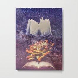 Enlightened Knowledge  Metal Print