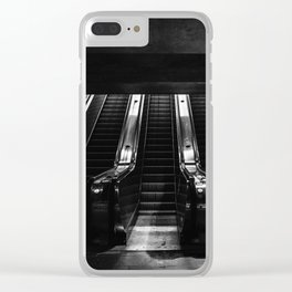 Escalator Clear iPhone Case