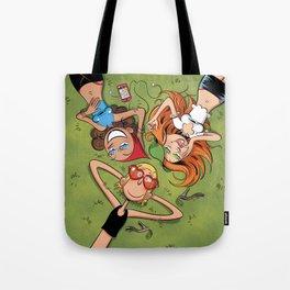 Journée d'été Tote Bag