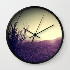 Landscape Sunset Wall Clock