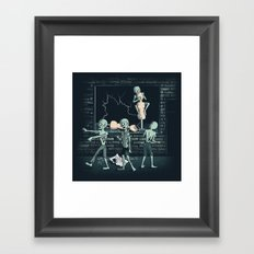 No more Braaaaains!  Framed Art Print