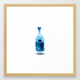 Love a drink Framed Art Print