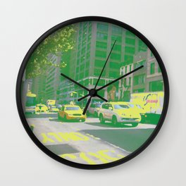 Street Dabs Wall Clock