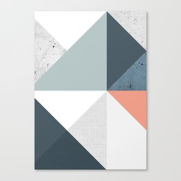 Modern Geometric 12 Canvas Print