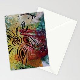 Bird Flower - JUSTART © Stationery Cards