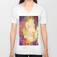 oscar wilde V-neck T-shirts featuring Oscar Wilde by Ganech joe