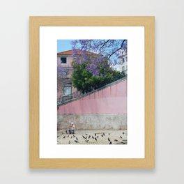 Paint me pink Framed Art Print