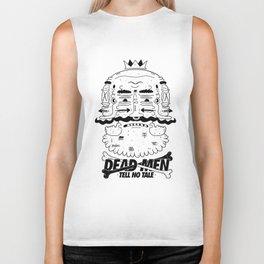 dead men tell no tale Biker Tank