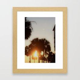 CHS Sunset Framed Art Print